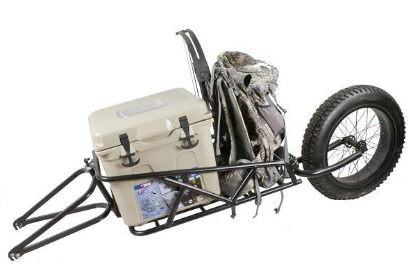 Fat Tire Electric Bike Cargo Trailer